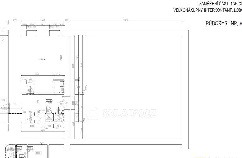 Kancelářské prostory layout