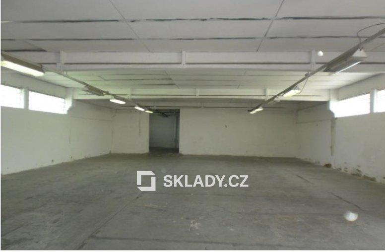 skladová hala 155 m2 - Horní Počernice..