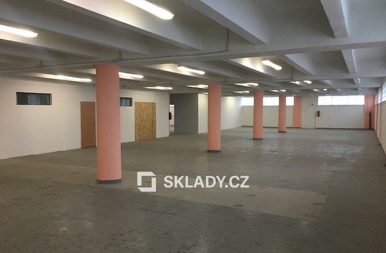 sklad 250 m2 - Jihlava..
