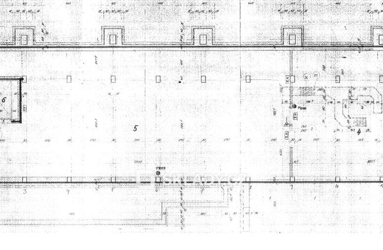 Sklad 250 m2 - layout