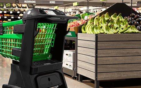 Amazon zvyšuje kapacitu logistického centra v Koblenzi. Představil také chytrý nákupní košík