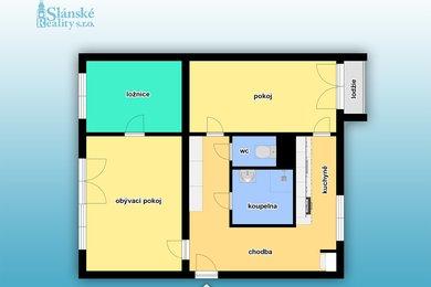 Prodej, Byty 3+1, 61 m² - Slaný, Ev.č.: 00228