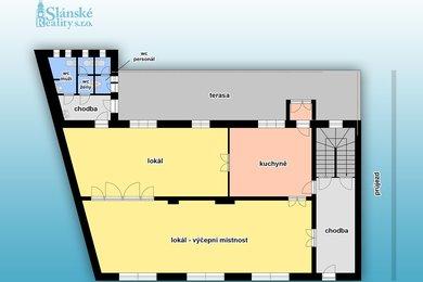 Prodej, Restaurace, 220m² - Libušín, Ev.č.: 00246