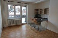 Pronájem bytu 1kk s lodžií, 29 m², ul. Nádražní, Bruntál