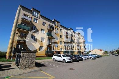 Pronájem bytu 2+KK s balkónem a garáží v Chrlicích, Ev.č.: BM21025