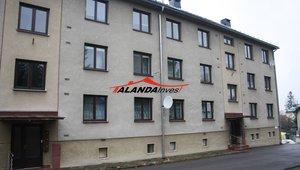Prodáme pěkný byt  3+1 v osobním vlastnictví , suchý zděný dům, centrum města, výměra  70 m² - Žamberk