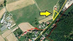 Pozemek pro výstavbu RD, 1.313 m2, Kvasiny