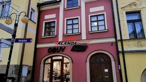 Pronajmeme  kancelář ve středu města Žamberk, Masarykovo náměstí,