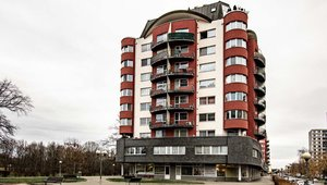 Podnájem bytu 3+kk, 85 m², nábřeží Závodu míru, Pardubice