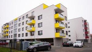 Podnájem bytu 2+kk s balkónem a parkovacím místem 53 m², centrum Pardubic
