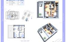 dům C typ 8 2+kk s terasou
