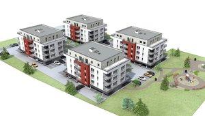 Prodej bytu 2+kk s terasou, 72 m², Dašice