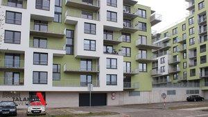 Pronájem bytu 1+kk, 38m2, terasa, parkovací stání, OV
