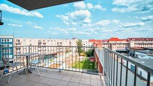 Pronájem bytu 2+kk s balkonem, 49 m², Resslova, Hradec Králové