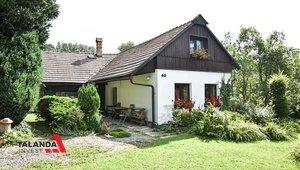 Prodáme velmi hezkou chalupu na klidném místě s pěknou zahradou , bazénem a grilovacím koutem  Chalupa, 1289m² - Anenská Studánka