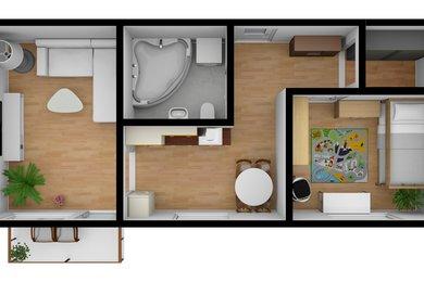 Prodej, Byty 2+1, 58m² - Hrušovany u Brna, Ev.č.: 00115