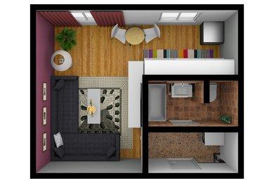 Prodej, Byty 1+kk, 28m² - Hrušovany u Brna, Ev.č.: 00174