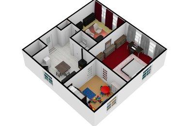Prodej, Byty 3+1, 93m² - Hrušovany u Brna, Ev.č.: 00310
