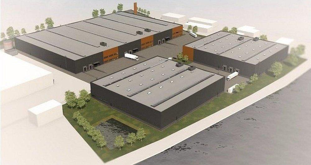 Pronájem skladu, 4700 m², Zápy