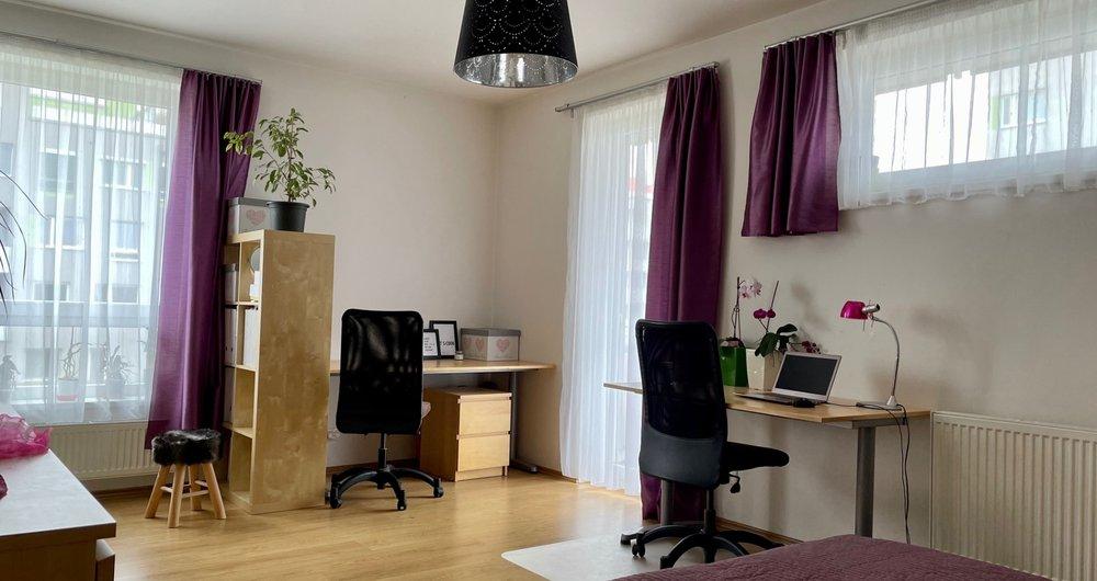 Prodej bytu s balkónem 1kk, 47 m2, Uhříněves