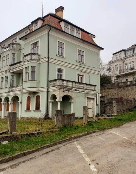 vila Vranov nad Dyjí