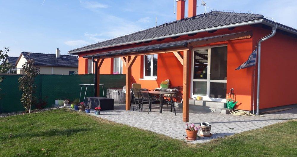 Prodej rodinného domu 95m2, novostavba, pozemek 500 m2, Veliká Ves