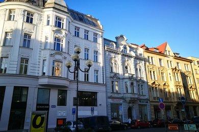 Pronájem, byt 1+1 s terasou, 49 m², Ostrava - Moravská Ostrava, Jiráskovo náměstí, Ev.č.: 00537