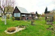 Svitavy, chata 17 m2, pozemek 426 m2, elektřina, vlastní studna, venkovní krb - chata