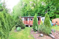 Rychnov na Moravě, pozemek 661 m2, mobilheim 32 m2, možnost výstavby - zahrada