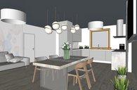 Bošovice, rodinný dům 160 m2 na klíč , garáž, pozemek 799 m2, všechny sítě, studna
