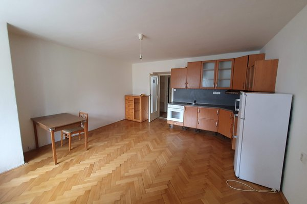 Pronájem bytu 2+kk, 55 m² - ul. Skřivanova, Brno