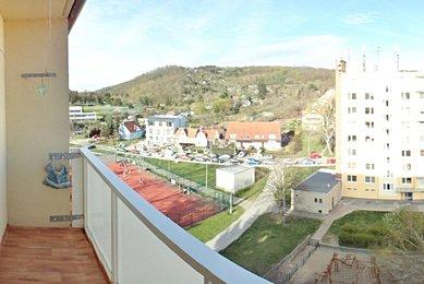 Pronájem pěkného, zařízeného bytu 1+1 s lodžii, Brno- Komín