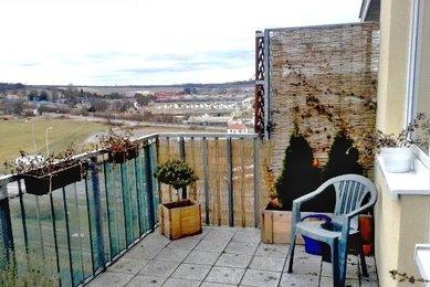 Pronájem novostavby zařízeného bytu 1+kk s terasou, Brno-Líšeň, ul. Sedláčkova