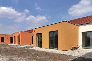 Prodej novostavby rodinného domu 4+kk s 2-garáží, Rajhradice, Brno-venkov