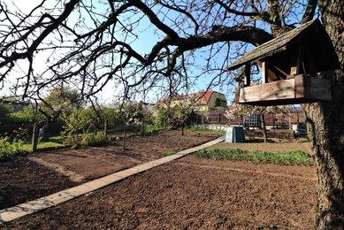 Prodej rodinného domu 5+1 s pěknou zahradou v Holubicích