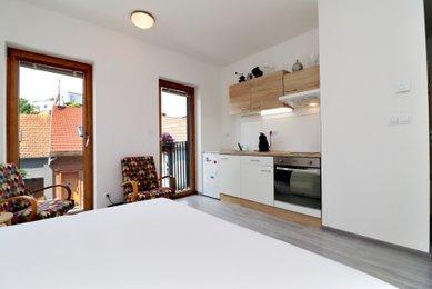 Prodej bytu 1+kk, 23,3 m², Brno - Královo Pole