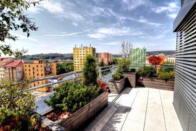 Pronájem bytu 2+kk  90m²  s terasou, Staré Brno