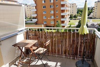 Novostavba plně zařízeného bytu 2+kk s terasou, Brno-Lesná- Majdalenky