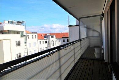 Byt 1+kk s terasou, 53m², v centru Brna, Joštova ulice