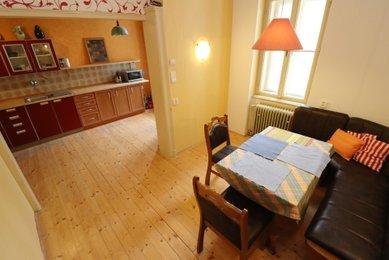 Prodej bytu v OV v centru Brna, ul. Zámečnická, 4+kk, 112m²