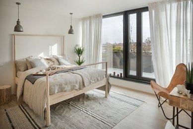 Pronájem bytu 2+kk s terasou, 58 m², Staré Brno