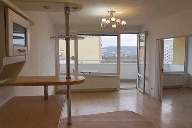 Pronájem bytu 2+kk s terasou, Brno-Lesná, Majdalenky