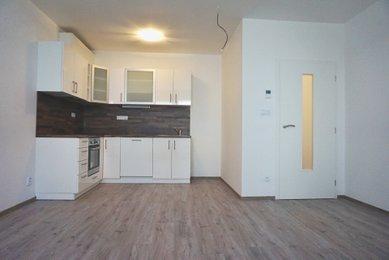 Pronájem novostavby bytu 2+kk, Brno- Bystrc, ul. Sentická