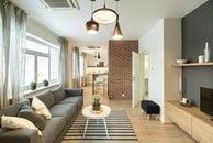 Apartmán Tugendhat obyvací pokoj