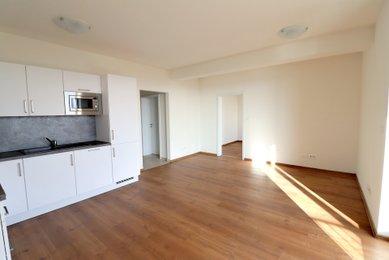 Pronájem bytu  v OV 3+kk, garážové stání, obec Holubice, okr.Vyškov