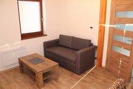 václavov - 2+kk obývací pokoj