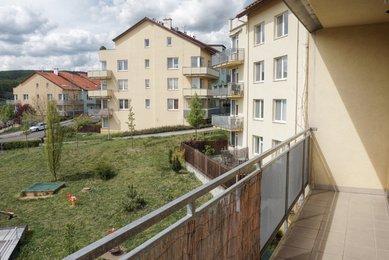 Pronájem bytu 2+kk s terasou, Brno-Medlánky, ul. Hrázka