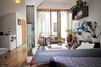 Pronájem bytu 1+kk, 37 m², Brno, Joštova