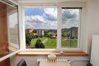 Lýskova - výhled z okna
