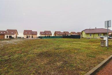 Pronájem stavebního pozemku 1369 m2 - Rebešovice